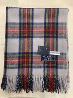 100% Wool Blanket | Tweeds Of Scotland | Dress Stewart | Tartan | Traditional