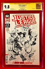 JUSTICE LEAGUE #1 CGC SS 9.8 1:100 BATMAN SUPERMAN WONDER WOMAN FLASH AQUAMAN DC