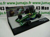 SEN11T voiture eaglemoss 1/43 F1 BRESIL Formule 1 JORDAN FORD 191 R.Moreno 1991