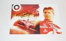 Indianapolis 500 winner DAN WHELDON Signed Team Hero Card Target