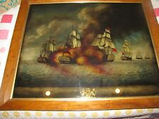 H.MS. MEDIATOR 1782 BRITISH VICTORY, AMERICAN AND FRENCH FLEET,DOMINIC M. SERRES