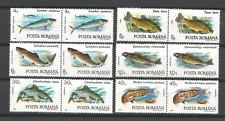 poisson Roumanie 1992 Y&T N°3991 à 3996 12 timbres neufs /T4703