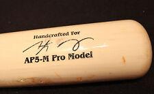 anthony gose used bat, toronto blue jays ,bat is cracked.batting practice bat