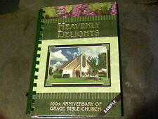 2009 Heavenly Delights 100th Anniversary of Grace Bible Church sample book s19