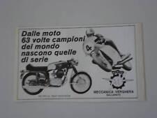advertising Pubblicità 1971 MOTO MV AGUSTA 350 SPORT