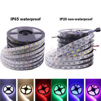 DC 12V 5M SMD 5050 RGB LED Strip Waterproof 300LED RGBW RGBWW LED Light Strip