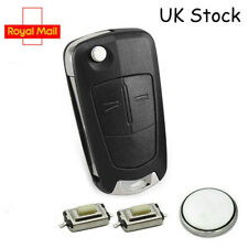 Vauxhall Opel Corsa Astra Vectra Zafira 2 Button Remote Key Fob Case Service Kit