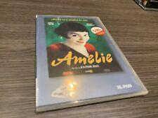 AMELIE DVD AUDREY TAUTOU MATHIEU KASSOVITZ SLIMCASE  PRECINTADA