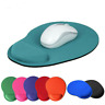 Mouse Pad with Foam Wrist Rest Anti-Slip Mouse Mat Support for PC Macbook Laptop