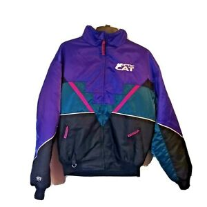 Arctic Cat Multi Color 2 In 1 Coat, Size XL, Thermal Insulated, Snowmobile