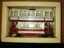 Corgi 1/76 Scale Diecast 97268 - Double Deck Tram - London County Council