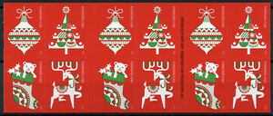 USA Christmas Stamps 2020 MNH Holiday Delights Decorations 20v S/A Booklet