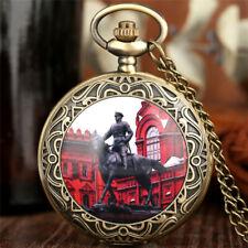 Bronze Cross Wings/Russian Double-headed Eagle/Riding Generals Pocket Watch Gift