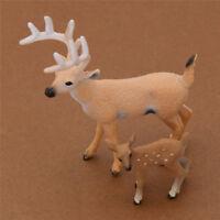 Geschenk Set Weihnachten Hirsch Reh Puppe Dekoration Figur Wohnzimmer Deko