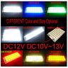 12V Piranha LED Board Night Lights Lamp Warm White REB Blue Green 9/12/18/24 led