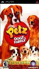 Petz Dogz Family UMD PSP GAME SONY PLAYSTATION PORTABLE PETS DOGS