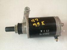 1999 Evinrude 9.9 15 HP 4 Stroke Outboard Ignition Starter Motor Freshwater MN
