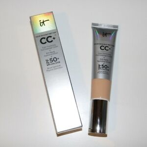 It Cosmetics CC Cream Full Coverage Foundation SPF 50 LIGHT/MEDIUM Full Size