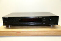 Sony S570ES FM/AM Stereo Tuner RDS in Schwarz in Guten und Geb.Zustand