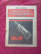 Vintage Practical Engineering Magazine Spring Design July 1946