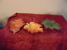 PartyLite Whispering Leaves Tealight Trio Party Lite Nib! (P8535U)