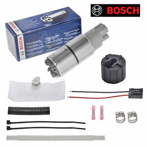 Bosch Intank Fuel Pump Harley-Davidson EFI Fuel Injection W/Strainer 2000-2012