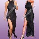 Vestido Mujer Asimétrico Elegante Atractivo Noche Chica Moda Celebridad Vip Ropa