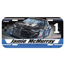 2018 JAMIE MCMURRAY #1 CESSNA NASCAR LICENSE PLATE NEW BY WINCRAFT FREE SHIP