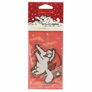 Christmas Cookie Simon's CatSCENTED AIR FRESHENER for Car Novelty Air Freshner