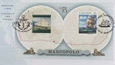 1999 Maritime Links with Canada M/S Fdc