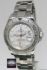 Rolex Yacht-Master Platinum & Stainless Steel Mens 40mm Automatic Watch K 16622