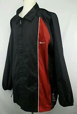 Vintage Nike Full Zip 100% Nylon Windbreaker Jacket Size Adult XXL
