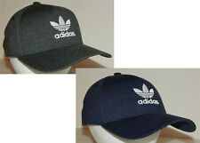 Adidas Men's Originals Hat / Cap Trefoil Snapback Heather Gray or Navy