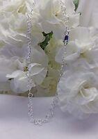 .925 Italy Sterling Silver Open Heart Bracelet / Ankle Bracelet (2949)