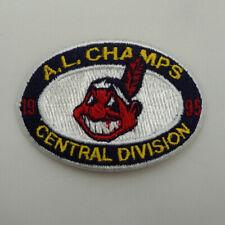 """Cleveland Indians A.L. Champs 1995 Central Division Patch 3"""" x 2"""" Vintage ST213"""