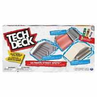 Tech Deck Street Spots, 3 Tech Decks Included!