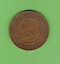 #D312. 1933/32  OVERDATE   AUSTRALIAN BRONZE PENNY COIN