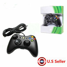Wired Xbox 360 USB Remote Game Controller Gamepad for PC Windows Computer BlaYT