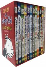 Diary of a Wimpy Kid - Books 1-12 (collection) Popular Gift Kids Books (NEW)