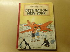 ALBUM BD / JO, ZETTE ET JOCKO 2: DESTINATION NEW-YORK | EO 1951 HC