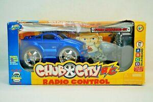 Jada Chub City Ford Mustang GT Radio Control Car RC NEW Old Stock box damage