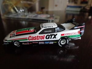 JOHN FORCE CASTROL GTX 1993 OLDSMOBILE CUTLASS FUNNY CAR 1/64 ACTION