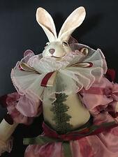 "Retired 24"" Katherine's Collection, Fairy Rabbit Doll, by Wayne Kleski"