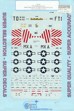 1/72 SuperScale Decals P-51B Aces Brown 31st FG Beeson 4th FG Rogers 354th FG