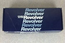 Smith Wesson Gun Revolver Cardboard Box ONLY Instructional Safety Manual