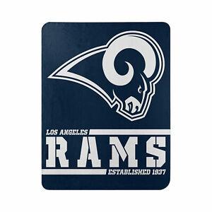 "New Football Los Angeles Rams Fleece blanket Split Soft Throw 50"" x 60"""