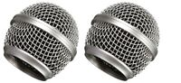 2 Pack RK143G Microphone Grills Replacement for Shure SM58 Microphone Handheld