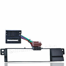 BMW 3er E46 Radio Blende Autoradio Einbau Rahmen Adapter Kabel MOST Kontakt ISO