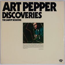 ART PEPPER: Discoveries, The Savoy Sessions USA Jazz 2x LP Jack Montrose