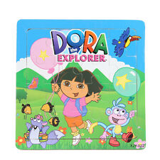 1 PCS Wooden Dora Jigsaw Puzzles Gift Toys for Boys & Girls Ages 3+ (Dora-1-W)